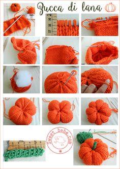 Crochet Fall, Diy Crochet, Crochet Crafts, Yarn Crafts, Fabric Crafts, Food Crafts, Holiday Crochet, Tutorial Crochet, Crochet Ideas