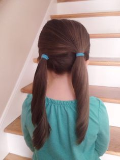 Hair Styles and Hair Cuts For Girls Girl Hair Dos, Baby Girl Hair, Princess Hairstyles, Little Girl Hairstyles, Haircuts For Medium Length Hair, Toddler Hair, Hair Kids, Hairstyles Haircuts, Funny Hairstyles