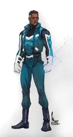 Blue Marvel, The Ultimates by Kenneth Rocafort