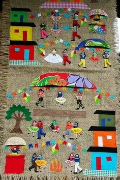 Class Decoration, Reggio Emilia, Childrens Books, Sewing Projects, Christmas Crafts, Applique, Kids Rugs, Diy Crafts, Activities