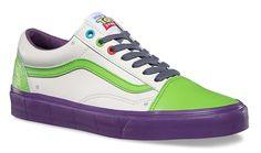 Os tênis Vans x Toy Story