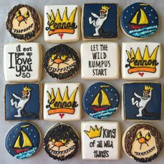Where the Wild Things Are Cookie Set by RuthieGraceCakeCo on Etsy
