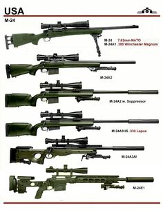 All the variants of the SVD Dragunov Marksman Rifle