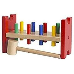 IKEA MULA hammering block multicolor. -- See this great product. (This is an affiliate link) #HammeringPoundingToys