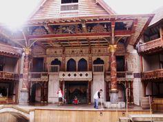Der Nachbau des Globe Theaters in Bankside.