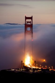 amazing view,bridge,clouds