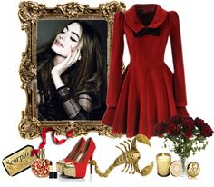 """""""Scorpio Style"""" by catsian ❤ liked on Polyvore"""