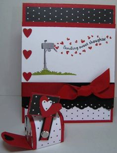 Stamps: Wandering Words           Paper: Real Red, Day &Night DSP SU Markers: Real Red, Going Gray, Basic Black, Old Olive