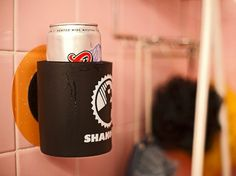beer coozie for the shower? I wish this was around when I was in college!