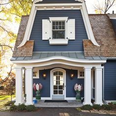 Blue House Design Ideas, Pictures, Remodel, and Decor - page 6
