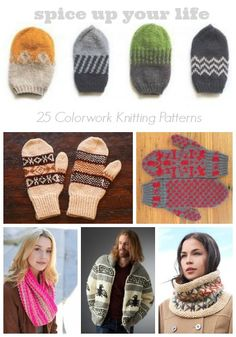 Spice Up Your Life: 25 Colorwork Knitting Patterns