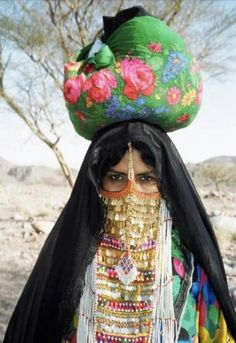 Woman from South Sinai - Egypt ~