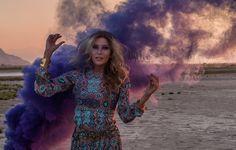 Boho Fashion Photography + Smoke Bomb Photography