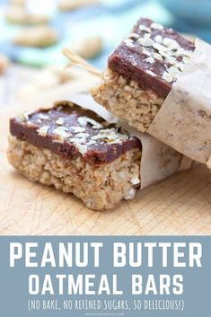 These no-bake Peanut Butter Banana Oatmeal Bars are wonderful snack. Sweet, nutty and absolutely delicious. + Easy to make with only a few pantry ingredients. No refined sugars. Energizing and delicious! Perfect snack. ----- #snack #healthysnack #breakfast #breakfastbars #oats #oatmeal #oatmealbars #peanutbutter #peanutbutterbars #chocolate #darkchocolate #bars #energybars #nobake #easy