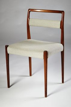 rosewood + wool upholstered dining chair | 1960s | #vintage #1960s #home