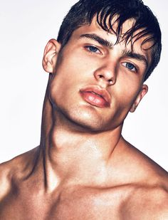 "homme–models: ""Miroslav Cech for Atittude Magazine; by Mark Cant "" Beautiful Men Faces, Gorgeous Men, Beautiful People, Hot Guys, Sexy Guys, Pose, Francisco Lachowski, Handsome Faces, Handsome Man"