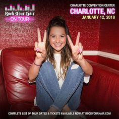 Are you ready Charlotte? Click the link in my bio for tickets and to see where else we are headed! Can't wait to see you all Annie Leblanc, Hayley Leblanc, Caleb Logan Bratayley, Annie And Hayden, Julianna Grace Leblanc, Annie Grace, Then Vs Now, Rock Hairstyles, Maddie Ziegler