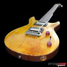 A bespoke hollow electric guitar | Crimson Guitars UK