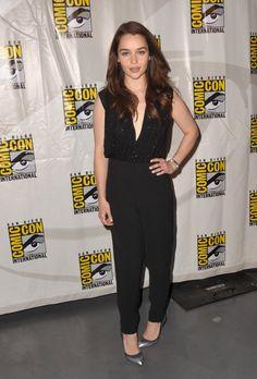 Emilia Clarke - Comic-Con 2012
