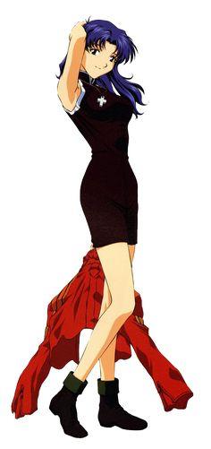 Evangelion Misato Katsuragi #Evangelion #MisatoKatsuragi Neon Genesis Evangelion, The End Of Evangelion, Rei Ayanami, Sci Fi Anime, Manga Anime, Makoto, Super Robot, Passion Project, Best Waifu