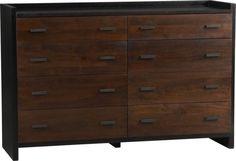 New Dresser for master bedroom. Forsyth Eight-Drawer Dresser  | Crate and Barrel