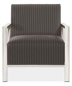 Zinc Chair fabric:Vera color:Graphite Stocked Item $799.00