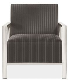Zinc Chair fabric:	Vera color:	Graphite Stocked Item $799.00