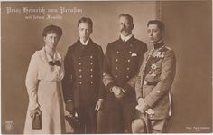 Royalty Postcard Germany Prince Heinrich of Prussia with Family | eBay