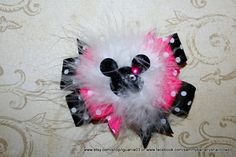 Made to Match Mickey Mouse Inspired Hair Bow by Sammy by iguania03, $6.99
