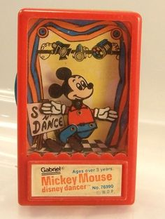I forgot about these! Mickey Mouse Disney Dancer Gabriel Toy 1975 RARE | eBay