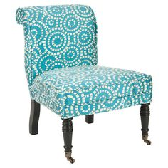 I love the fabric, so now I will be on a hunt for this chair!