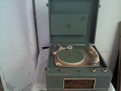 giradischi telefunken musikus vintage non funzionante