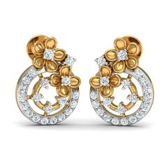 Buy Gold & Diamond Jewellery Online in India. Shop our latest earrings, pendants, rings & bracelets studded with gemstones like Ruby, Emerald & Blue Sapphire. Diamond Gemstone, Diamond Studs, Gemstone Jewelry, Diamond Jewelry, Diamonds And Gold, Natural Diamonds, Buy Earrings, Diamond Earrings, Best Gifts For Mom