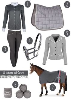 www.pegasebuzz.com | Equestrian Fashion : Shades of Grey
