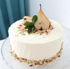Cake Pretty Cakes, Cute Cakes, Yummy Cakes, Decoration Patisserie, Dessert Decoration, Bolo Grande, Drip Cakes, Buttercream Cake, Love Cake