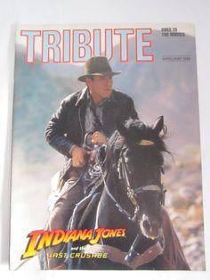 Indiana Jones and the last crusade  Tribute magazine by TashasVintages on Etsy