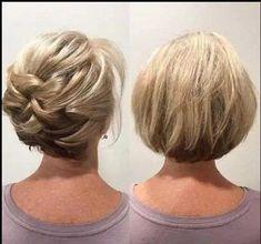 Hairdo Wedding, Bridal Hair Updo, Elegant Wedding Hair, Short Wedding Hair, Hairdos For Short Hair, Wedding Hairstyles For Medium Hair, Mom Hairstyles, Hairstyle Ideas, Short Hair With Layers