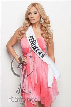Miss Universe PEÑUELAS, Marelys Santos Flores. #MissUniversePuertoRico2015 #MUPR2015 #MissPeñuelas #MarelysSantos
