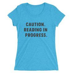 Reading in Progress slim-fit short sleeve t-shirt