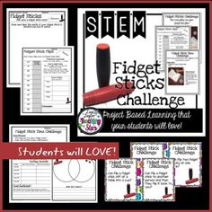 Fidget Stick STEM Activity is a packet of experiments your students will love! Fidget Sticks are the latest trend in classrooms! Even though it might drive you crazy, it will engage your students in learning about collecting data, making observations, and opinion writing. Students will SPIN and flip for this activity! This activity can also be used for STEAM Activities, Maker Spaces, Tinkering Labs, After School Clubs, or Summer Programs.