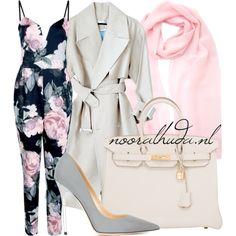 Hijab Outfit | nooralhuda.nl You've probably already guessed it: my favourite colour is pink! // Je hebt het waarschijnlijk al geraden: mijn favoriete kleur is roze! // Tu l'as probablement déjà deviné: ma couleur préférée c'est le rose! Trench coat €340 - popmap.com Jump suit €2,51 - boohoo.com Jimmy ...
