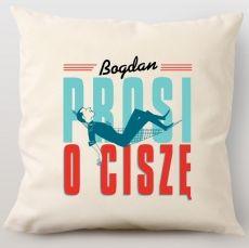 Poduszka personalizowana RELAKS idealny na urodziny