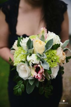 Timeless spring bouquet: http://www.stylemepretty.com/massachusetts-weddings/lenox/2015/08/12/timeless-elegant-spring-massachusetts-wedding/ | Photography: Lindsay Hite at Readyluck- http://www.readyluck.com/