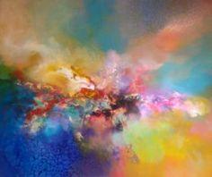 """Saatchi Art Artist Ivan Gideon Mijatovic; Painting, """"Heavenly color"""" #art"""