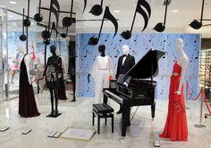 STEFFL Deparment Store Vienna  - Music Window 2015