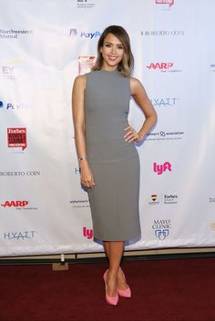 Jessica Alba Shows Us the Power of a Fun Pair of Shoes