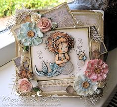 This women's cards are amazing! All paper pieced