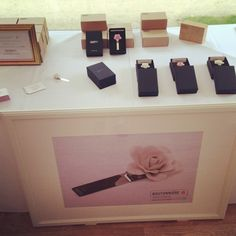 After great interest from grooms buying sets for their ushers at weddings (and having the reverse engraved with the initials of each person as a gift to say thank you), so we've been doing the odd exhibition/show.