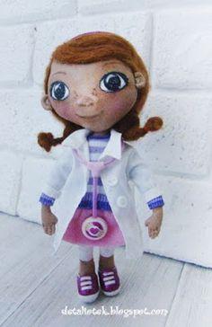 Детали от Елены: Куколка Доктор Плюшева или о том, как стать настоящим врачом)) Doc McStuffins doll Dotty