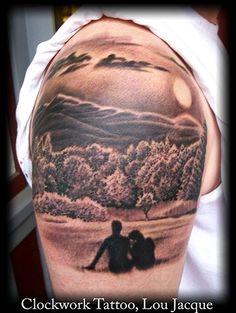 Mountain tattoos | Mountain View : Tattoos :